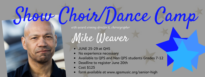 Show Choir Dance Camp