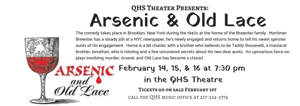 QHS Winter Play Arsenic and Old Lace